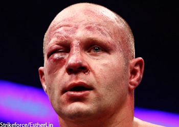 Strikeforce Fedor Emelianenko Eye