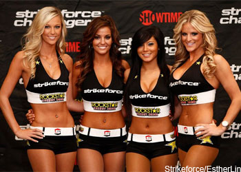 Strikeforce Girls Kelli Hutcherson