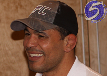 UFC Heavyweight Antonio Rodrigo Nogueira