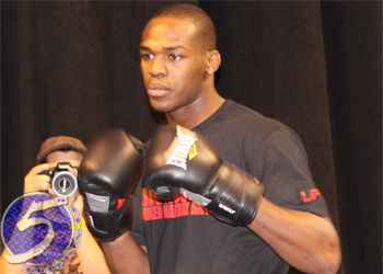 UFC Light Heavyweight Jon Jones