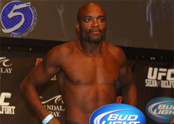 UFC Middleweight Champion Anderson Silva