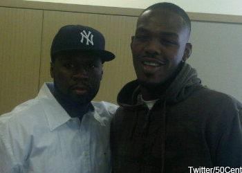 50 Cent Jon Jones UFC