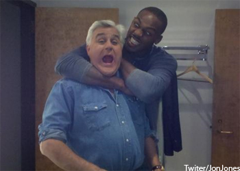UFC Champ Jon Jones Jay Leno