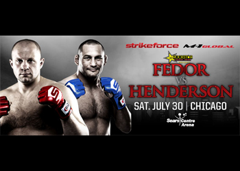 Strikeforce Fedor Poster Henderson