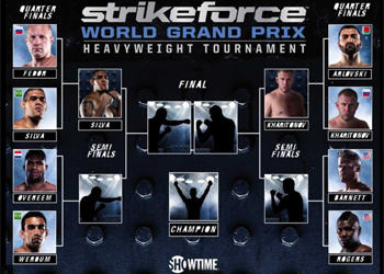 Strikeforce Grand Prix Brackets Heavyweight