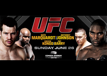 UFC Poster on Versus 4 Marquardt Johnson