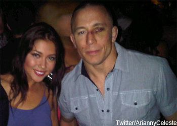Georges StPierre UFC Post 129 Eye