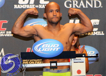 "UFC Demetrious ""Mighty Mouse"" Johnson"