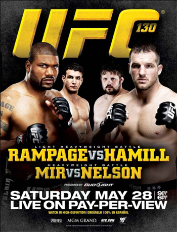 UFC Poster 130 Rampage Hamill