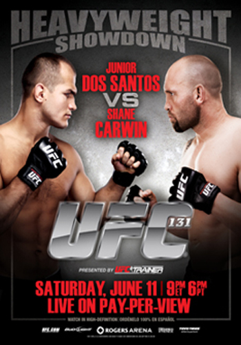UFC Poster 131 dos Santos Carwin