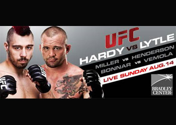 UFC Poster Versus 5 Lytle Hardy