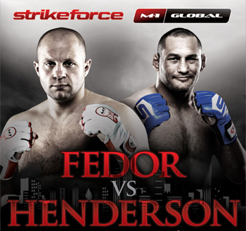 Strikeforce Poster Fedor Henderson