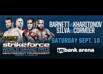 Strikeforce Poster Grand Prix Semifinals Barnett Silva
