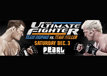 The Ultimate Fighter Poster Finale 14 Bisping Miller