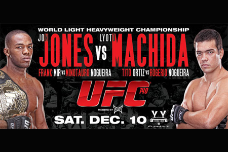 UFC Poster 140 Jon Jones Machida