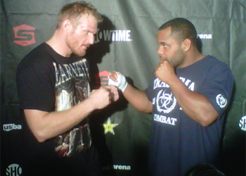 Strikeforce Barnett Cormier