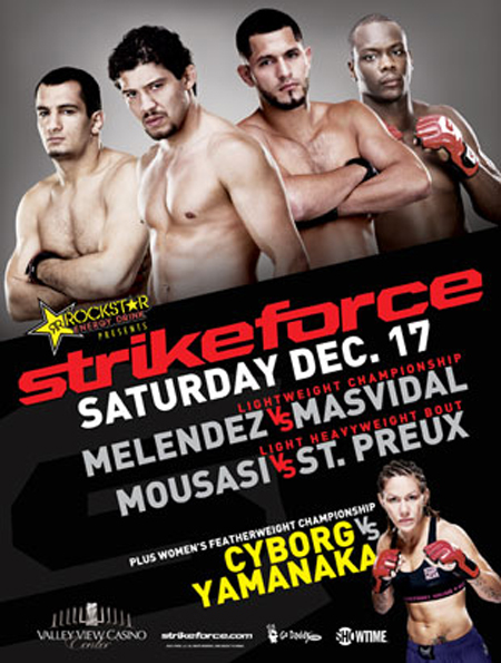Strikeforce Poster Melendez Mazvidal Cyborg