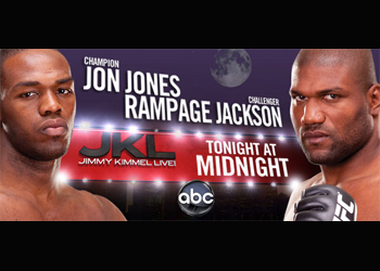 UFC Jon Jones Quinton Jackson Jimmy Kimmel