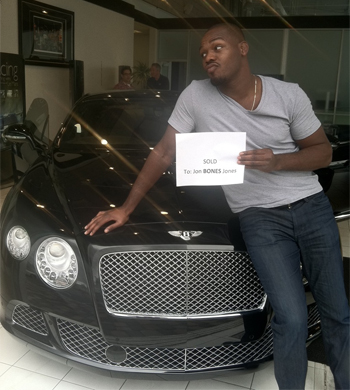 Jon Jones Bentley