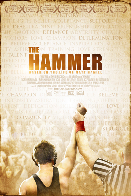 The Hammer Poster Matt Hamill
