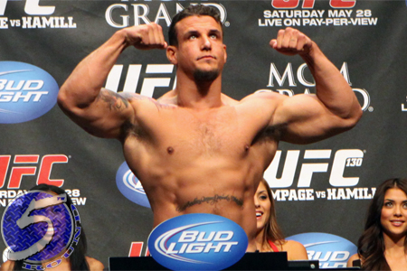 UFC Heavyweight Frank Mir