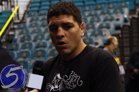 UFC Nick Diaz Strikeforce