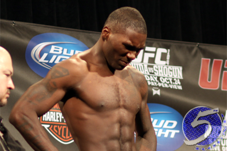 UFC Welterweight Anthony Johnson