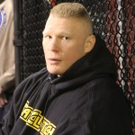 Brock Lesnar Keeps MMA Return Rumor Alive With UFC 184 Attendance
