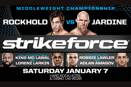 Strikeforce Poster Rockhold Jardine King Mo
