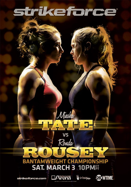 Strikeforce Poster Tate Rousey