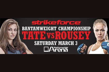 Strikeforce Tate Rousey Poster