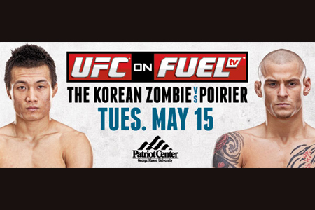 UFC Poster FUEL TV Korean Zombie Poirier