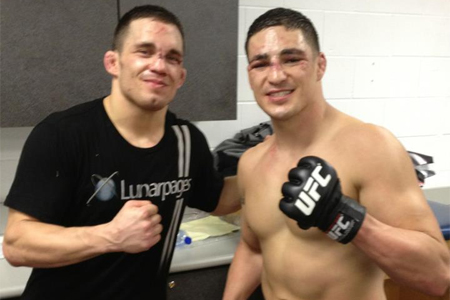 Jake Ellenberger Diego Sanchez