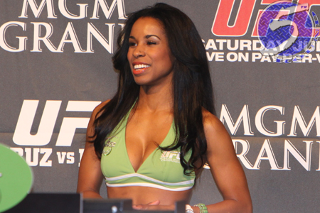 UFC Playboy Chandella Powell