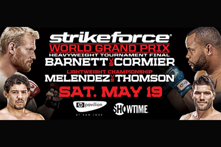 Strikeforce Heavyweight Grand Prix Barnett Cormier