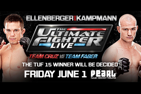 The Poster Ultimate Fighter Finale Ellenberger Kampmann