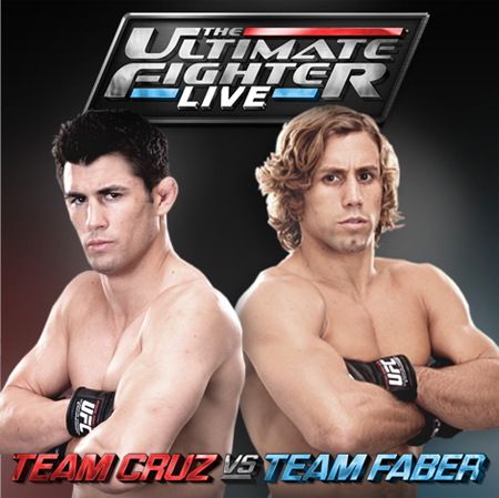 The Ultimate Live Fighter Cruz Faber FX Poster
