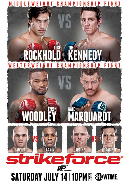 Strikeforce Poster Rockhold Kennedy