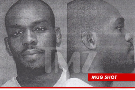UFC Jon Jones Mug Shot