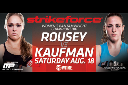 Strikeforce Poster Rousey Kaufman