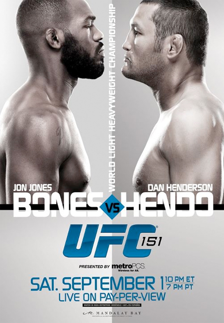 UFC Poster 151 Jones vs. Henderson