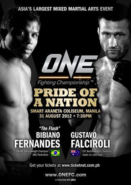 OneFC Poster Pride of A Nation