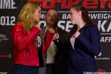 Strikeforce Ronda Rousey Sarah Kaufman