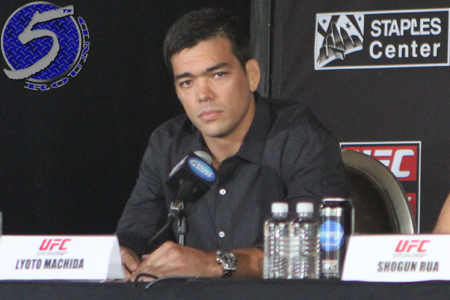 UFC Lyoto The Dragon Machida