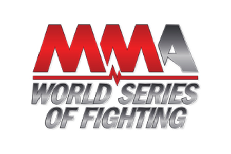 MMA World Series Of Fighting White Logo