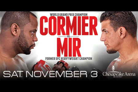 Strikeforce Poster Cormier Mir