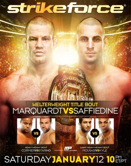 Strikeforce Poster Marquardt Saffiedine