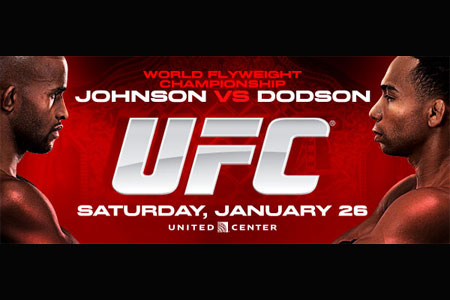 UFC Poster FOX 6 Johnson Dodson