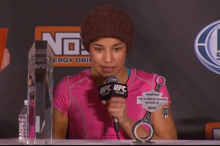UFC TUF 18 Julianna Pena