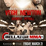 'Bellator 113: Vegh vs. Newton' Live Results